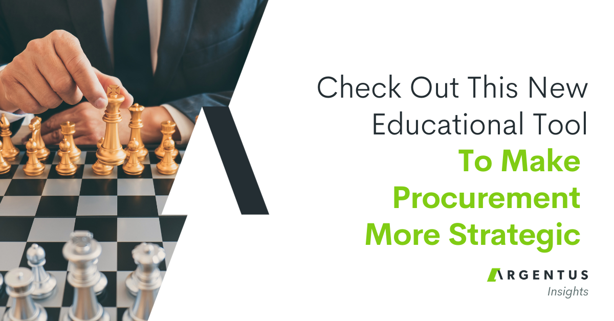 Check Out This New Education Solution to Make Procurement More Strategic