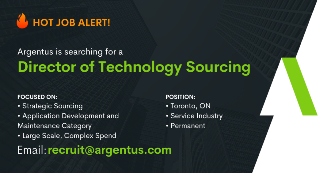 Director of Technology Sourcing