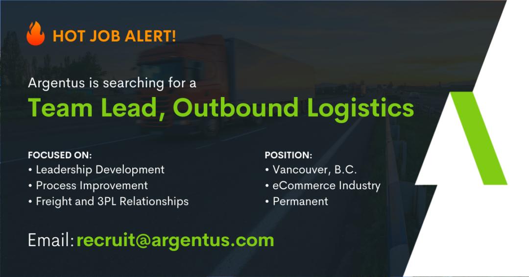 Team Lead, Outbound Logistics