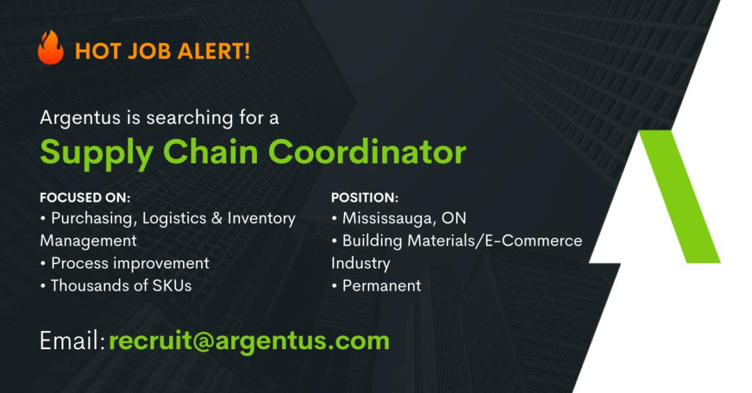 Supply Chain Coordinator